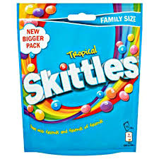 Skittles Tropical Family Size