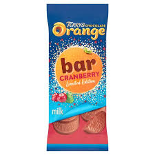 Terry's Orange Cranberry Bar 90g