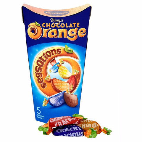 Terry's Milk Chocolate Orange Segsations Carton 300g