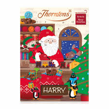 Thorntons Santa & Reindeer Advent Calendar 93g