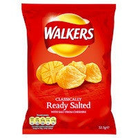 Walkers Ready Salted 32.5g BBD 27/8/20