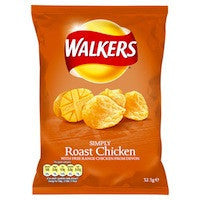 Walkers Roast Chicken 32.5g BBD 17/10/20