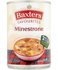 Baxters Minestrone Soup BBD 28/2/21
