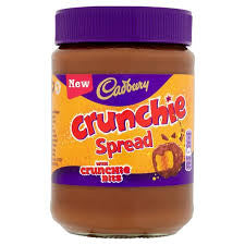 Cadbury Crunchie Spread  BBD 31/12/17