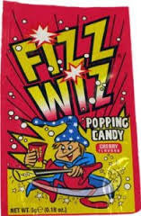 Fizz Wiz Popping Candy - Cherry