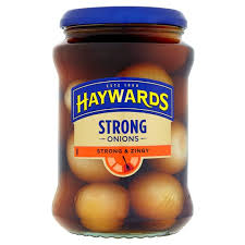 Haywards Traditional Onions - Strong & Zingy