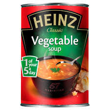 Heinz Classic Vegetable Soup  BBD 30/11/18