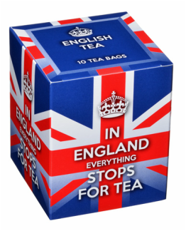 New English Teas - In England Everything Stops for Tea