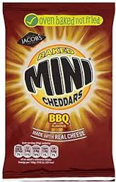 Jacob's Mini Cheddars BBQ Flavour