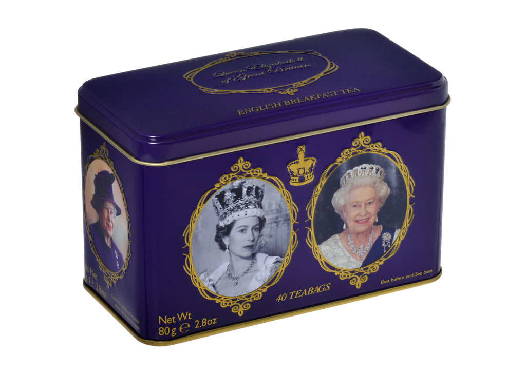 New English Teas - Queen Elizabeth II Tea Caddy