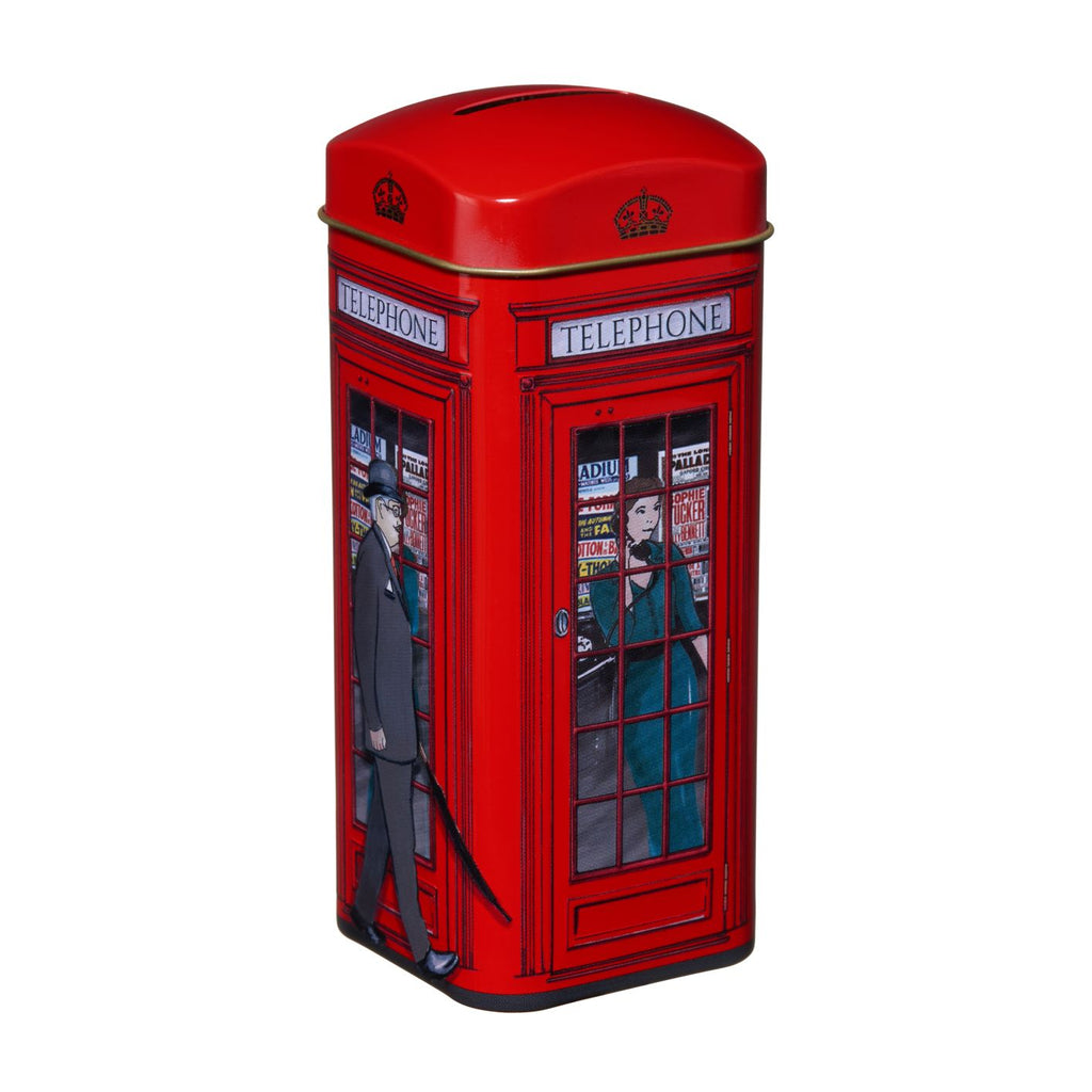 New English Teas - Phone Box Tea Tin
