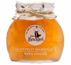 Mrs Bridges Orange Marmalade with Stem Ginger 340g