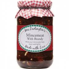 Mrs Darlington Mincemeat with Brandy 410g