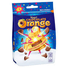Terry's Chocolate Orange Minis Exploding Candy 125g