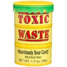 Toxic Waste - Yellow Drum