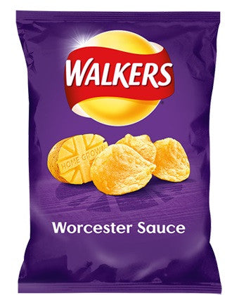 Walkers Worcester Sauce 32.5g BBD 17/10/20