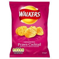 Walkers Prawn Cocktail 32.5g BBD 17/10/20