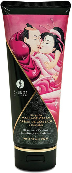 Shunga Raspberry Kissable Massage Cream