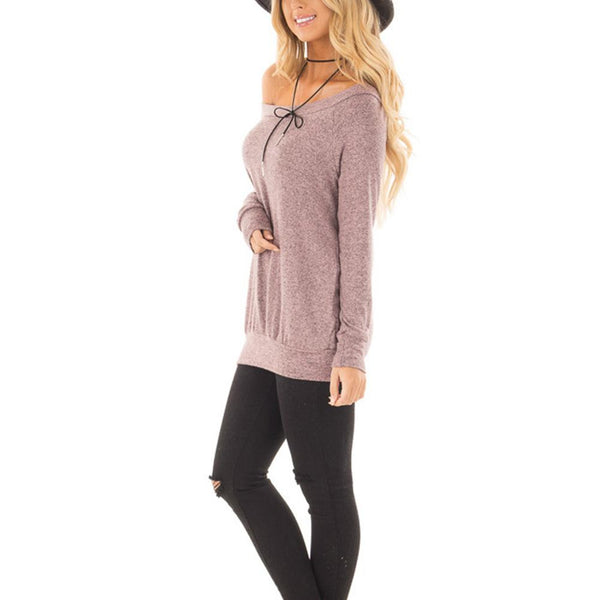 ItspleaZure Pink No Straps Long Cuffed Sleeves Top for  at itspleaZure