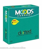 Moods Condoms Dotted Pack Of 3 for  at itspleaZure