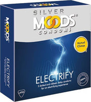 Moods Condoms Electrify Pack Of 3 for  at itspleaZure