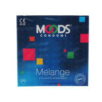 Moods Condoms Melange Pack Of 3 for  at itspleaZure