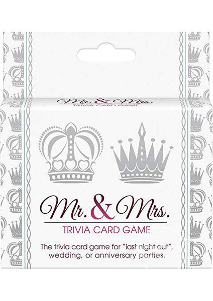 Mr. and Mrs. Trivia Card Game for  at itspleaZure