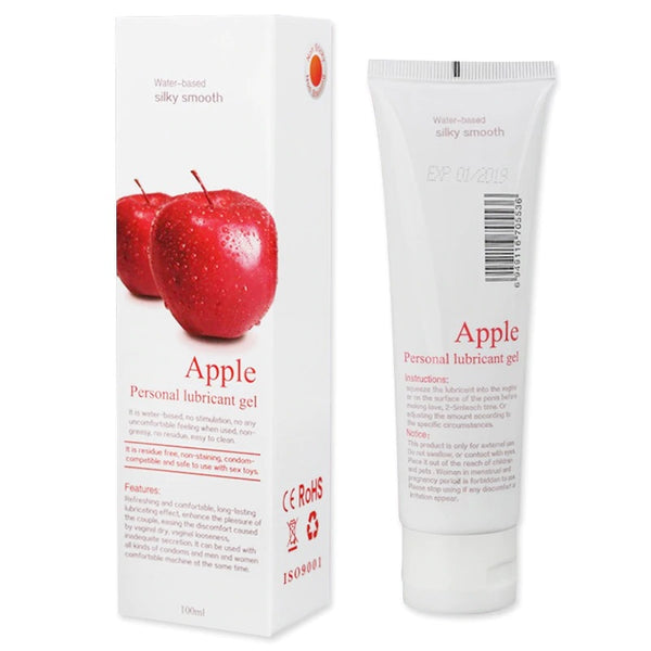 Silk Touch Personal Body Lubricant-Apple for  at itspleaZure