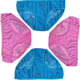 ItspleaZure  Women's fully beautiful lace G-String Regular Fit underwear (Pack Of 4) for  at itspleaZure