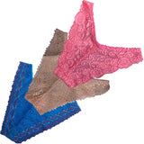 ItspleaZure  Women's G-String Panties Thongs Underwear (Pack Of 3) for  at itspleaZure