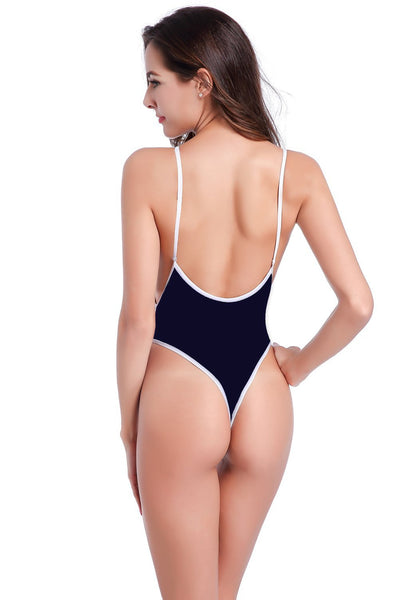 ItspleaZure High Cut Backless Sexy Hot Bikini - Black for  at itspleaZure
