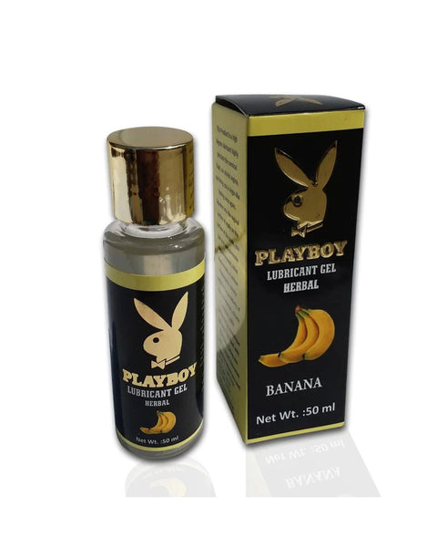 Playboy Herbal Lubricant Gel-Banana for  at itspleaZure