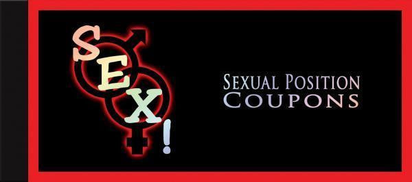 Buy Sex! Sexual Position Coupons Book for  at itspleaZure