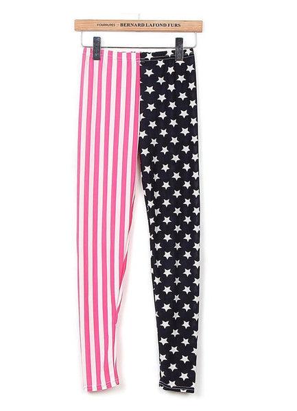 Buy ItspleaZure American Flag Print leggings for  at itspleaZure