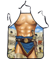 ItspleaZure Apron Gladiator design for  at itspleaZure