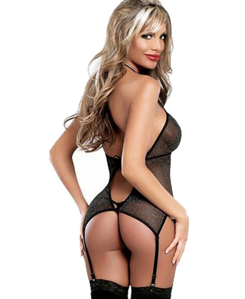 Buy ItspleaZure Flirtatious Black Babydoll for  at itspleaZure