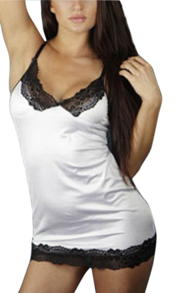 Buy ItspleaZure Sensuous White Babydoll for Rs. 699.00 at itspleaZure
