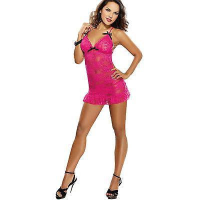 ItspleaZure Sexy Pink Babydoll for  at itspleaZure