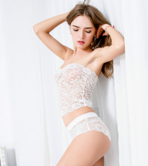 Buy ItspleaZure Women Sexy Corset Lace Set White for  at itspleaZure