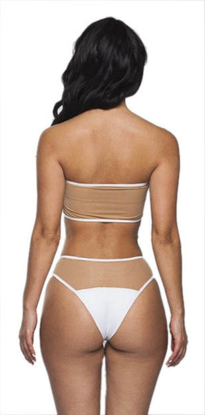Buy ItspleaZure Sheer White Bikini for  at itspleaZure
