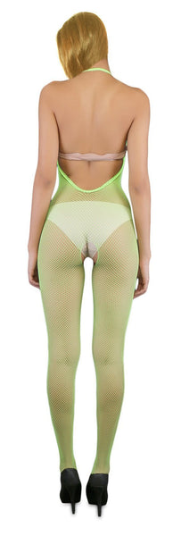 Buy ItspleaZure Halterneck Green Bodystocking for Rs. 699.00 at itspleaZure