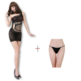 Buy ItspleaZure Women's Chemise Sleepwear Lingerie & Free Thong (Freesize_Q2MBS056_ARBT) for  at itspleaZure