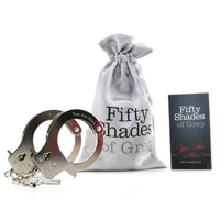 Buy Fifty Shades Of Grey You Are Mine Metal Handcuffs for Rs. 2199.00 at itspleaZure