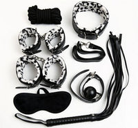 Buy ItspleaZure Zebra Print  8 Piece Bondage Kit for  at itspleaZure