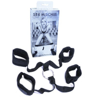 Buy SM Sex & Mischief Wrist & Ankle Restraint Kit for Rs. 2999.00 at itspleaZure
