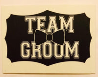 Buy ItspleaZure TEAM GROOM Photo booth board for  at itspleaZure
