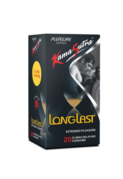 KamaSutra LongLast Condom Pack Of 20 for  at itspleaZure