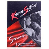 Buy KamaSutra Smooth Pack of 10 for Rs. 49.00 at itspleaZure