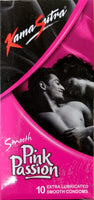 ItspleaZure Condom Kamasutra Smooth Pink Passion Pack Of 10