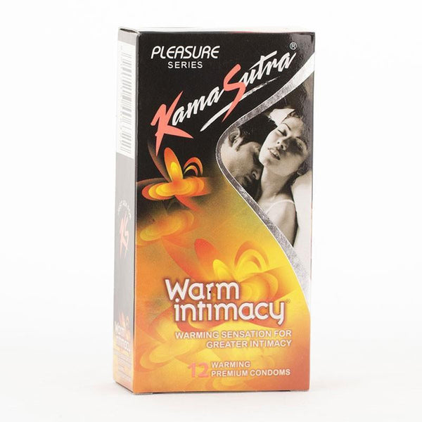Buy Kamasutra Warm Intimacy Pack Of 12 Condoms for Rs. 89.00 at itspleaZure